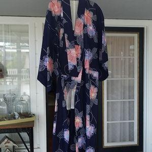 Other - Authentic cotton floral Yukata/ Kimono